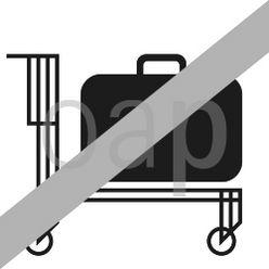 Für Rollwagen verboten