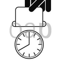 Attendance clock