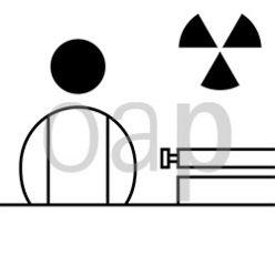Anmeldung mit Radioaktivzeichen