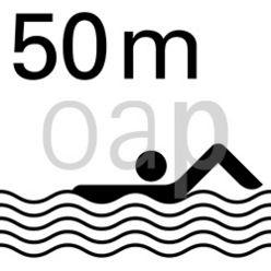 50-Meter-Becken